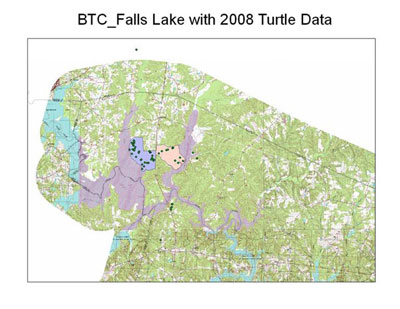 BTC_Falls Lake Data